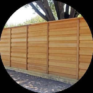 wood privacy fence Folsom california